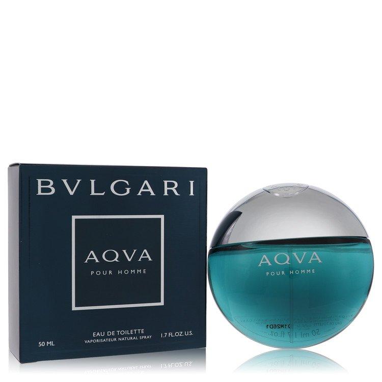 AQUA POUR HOMME by Bvlgari for Men Eau De Toilette Spray 1.7 oz