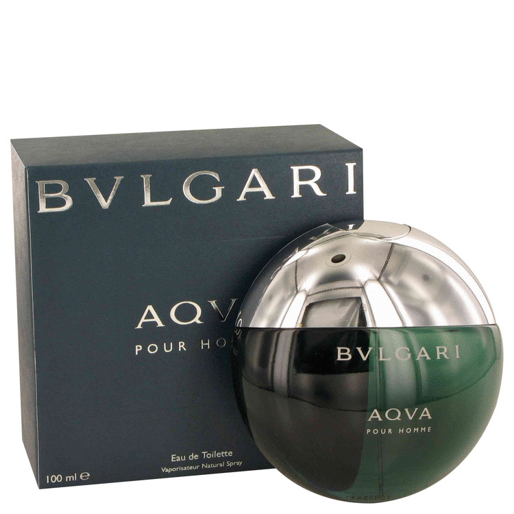 Aqua Pour Homme Cologne by Bvlgari 100 ml EDT Spay for Men