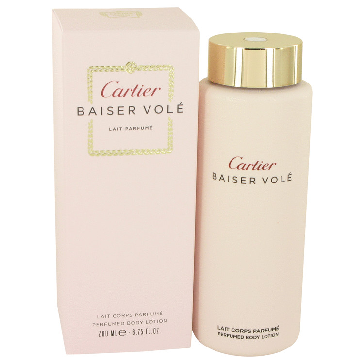 Baiser Vole by Cartier for Women Body Lotion 6.7 oz