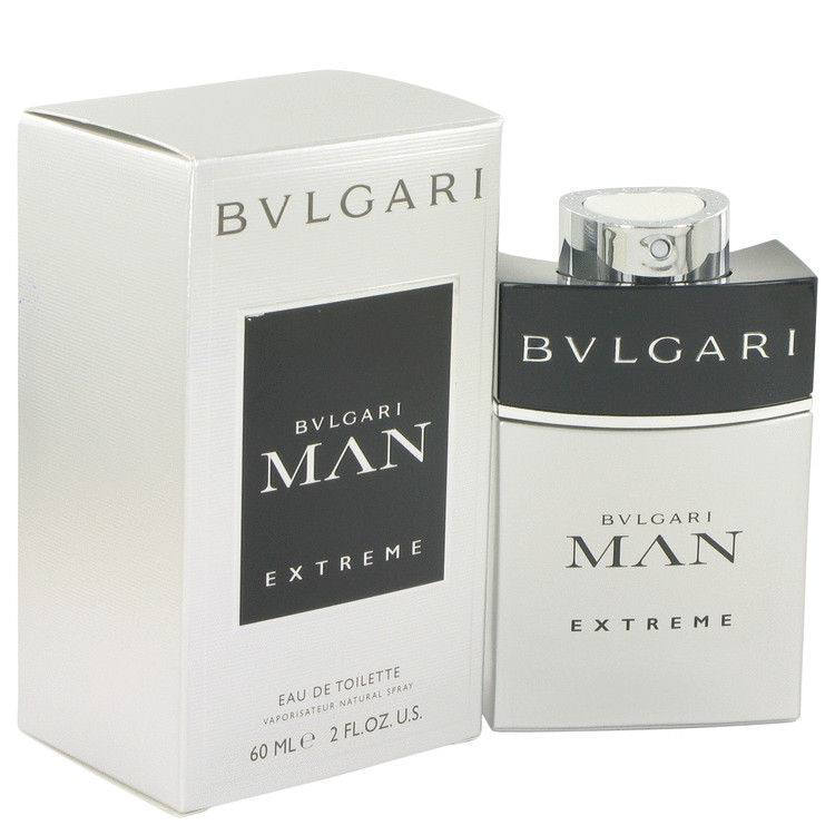 Bvlgari Man Extreme Cologne by Bvlgari 60 ml EDT Spay for Men