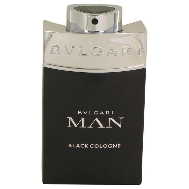Bvlgari Man Black Cologne by Bvlgari for Men Eau De Toilette Spray (Tester) 3.4 oz