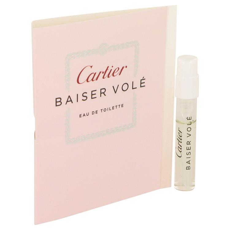 Baiser Vole by Cartier for Women Vial EDT (sample) .05 oz