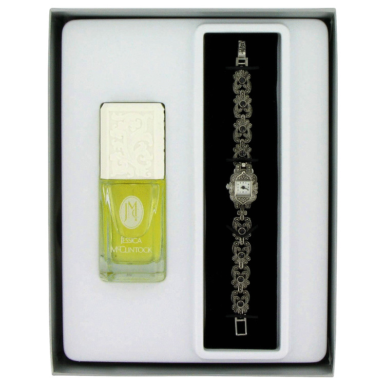 Jessica Mc Clintock for Women, Gift Set (1.7 oz EDP Spray + Watch)
