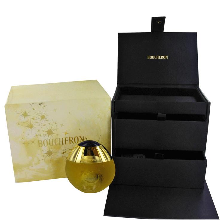 Boucheron Gift Set -- Gift Set - 1.6 oz Eau De Toilette Spray + Free Jewelry Box for Women
