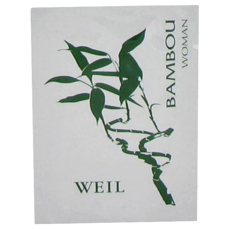 BAMBOU by Weil for Women Perfume Wipes .06 oz