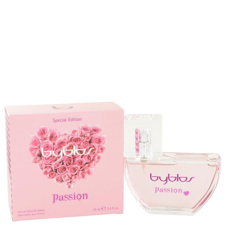 Byblos Passion Perfume by Byblos 75 ml Eau De Toilette Spray for Women