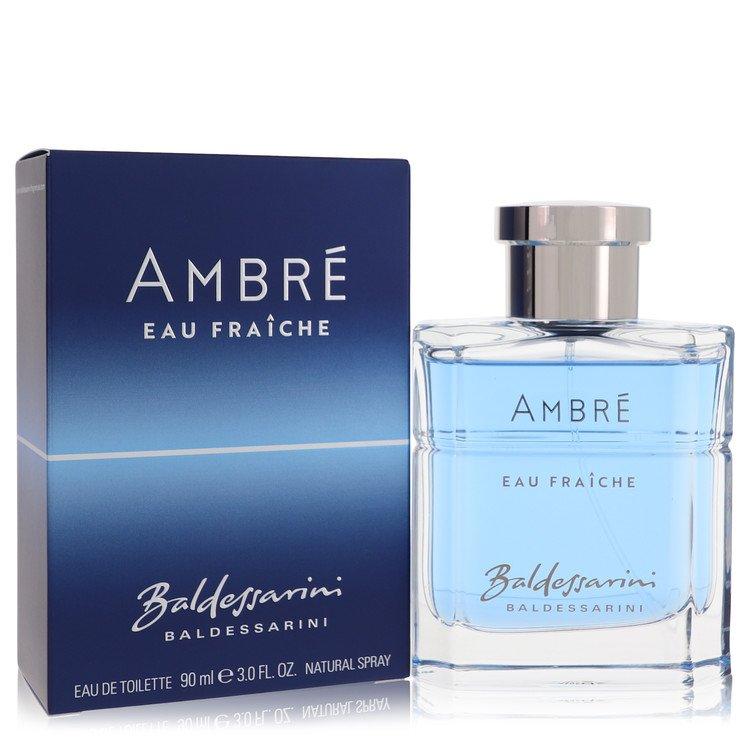 Baldessarini Ambre Eau Fraiche by Hugo Boss –  Eau De Toilette Spray 3 oz 90 ml for Men