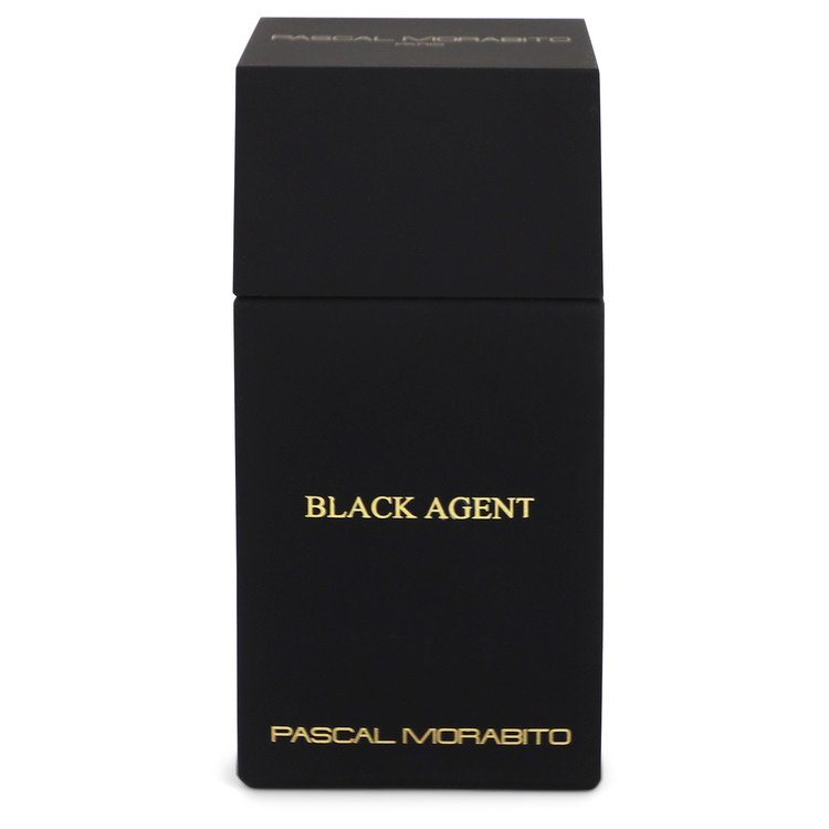 Black Agent by Pascal Morabito Men's Eau De Toilette Spray (unboxed) 3.3 oz