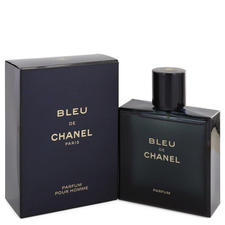 Bleu De Chanel Cologne by Chanel 5 oz Parfum Spray (New 2018) for Men