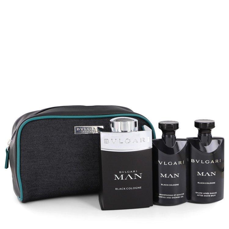 Bvlgari Man Black Cologne by Bvlgari Gift Set — for Men