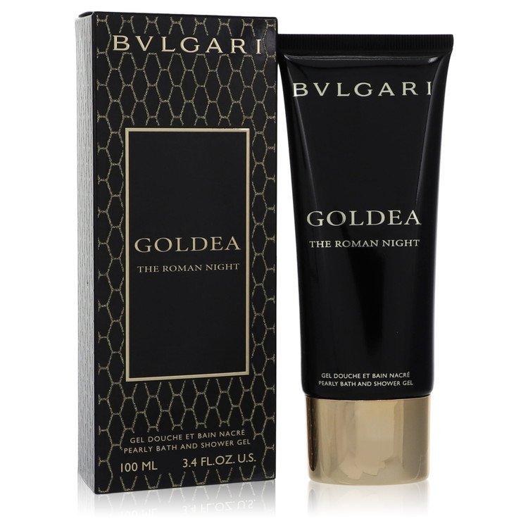 Bvlgari Goldea The Roman Night by Bvlgari –  Pearly Bath and Shower Gel 3.4 oz 100 ml for Women