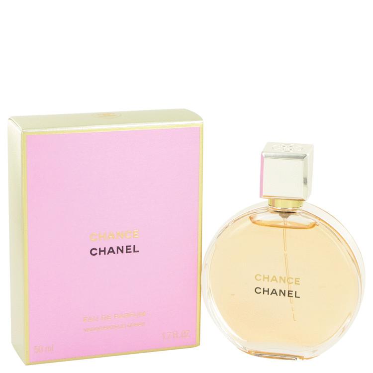 Chance Perfume by Chanel 50 ml Eau De Parfum Spray for Women