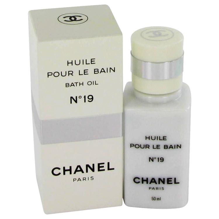 Chanel 19 Bath Oil by Chanel 1.7 oz Bath Oil for Women