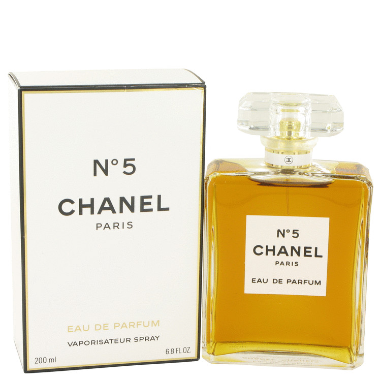 Chanel No. 5 Perfume by Chanel 6.8 oz EDP Spray for Women
