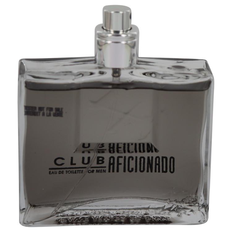 Club Aficionado by Jeanne Arthes for Men Eau De Toilette Spray (Tester) 3.4 oz