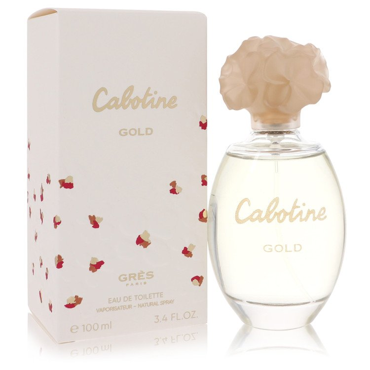 Cabotine Gold Perfume by Parfums Gres 100 ml EDT Spay for Women