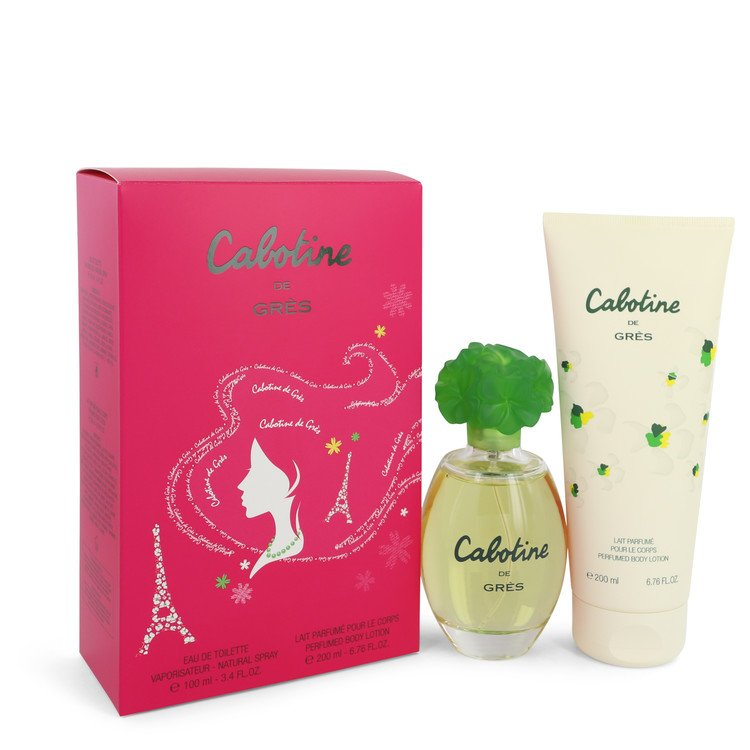 Cabotine Gift Set -- Gift Set - 3.4 oz Eau De Toilette Spray + 6.7 oz Body Lotion for Women