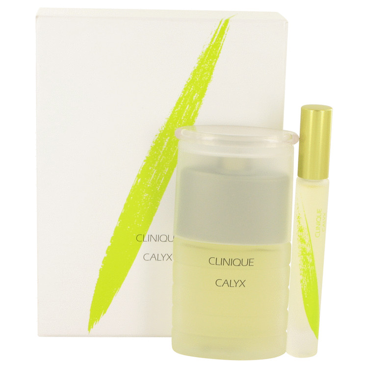 Calyx Perfume -- Gift Set - 1.7 oz Exhilarating Fragrance Spray + .2 Exhilarating Fragrance Rollerball for Women