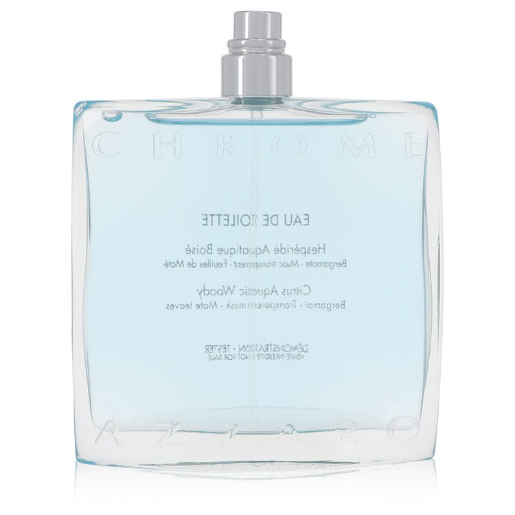 Chrome Cologne by Azzaro 3.4 oz EDT Spray (Tester) for Men