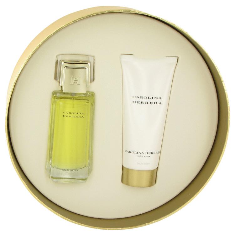 Carolina Herrera Gift Set -- Gift Set - 1.7 oz Eau De Parfum Spray + 3.4 oz Body Lotion for Women
