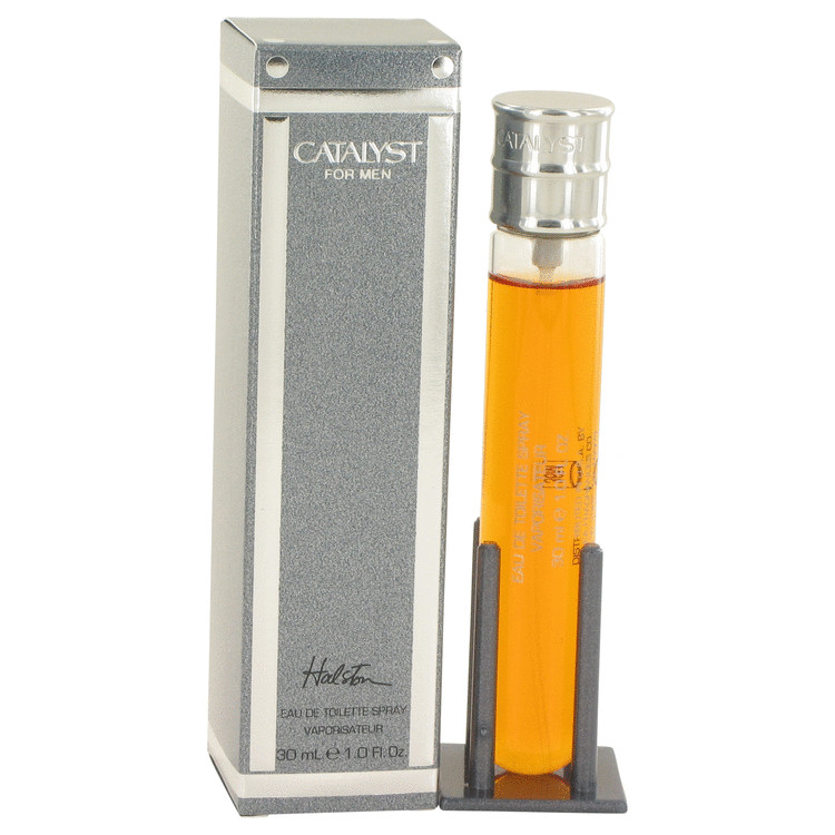 CATALYST by Halston for Men Eau De Toilette Spray 1 oz