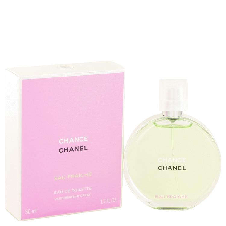 Chance Perfume by Chanel 50 ml Eau Fraiche Spray for Women