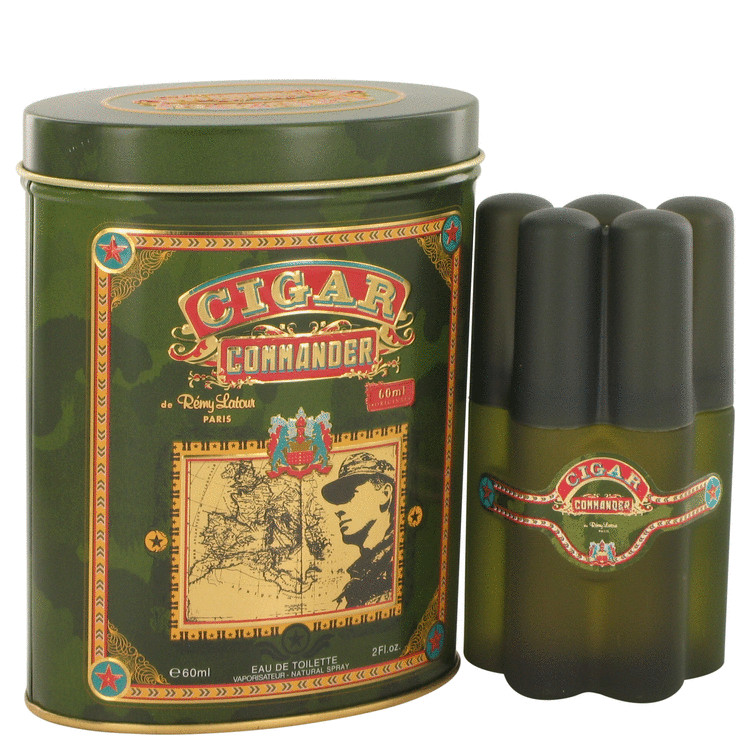 Cigar Commander by Remy Latour Eau De Toilette Spray 2 oz