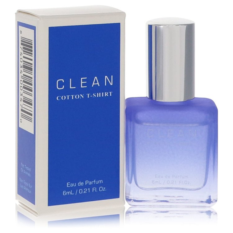 Clean Cotton T-Shirt by Clean for Women Mini EDP .21 oz