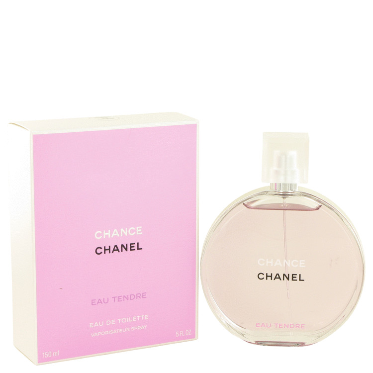Chance Eau Tendre by Chanel for Women Eau De Toilette Spray 5 oz