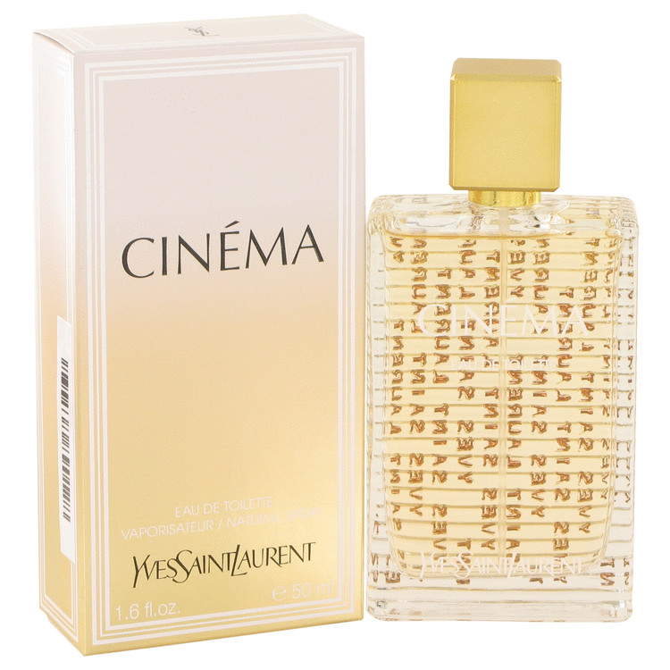 Cinema Perfume by Yves Saint Laurent 1.6 oz EDT Spay for Women