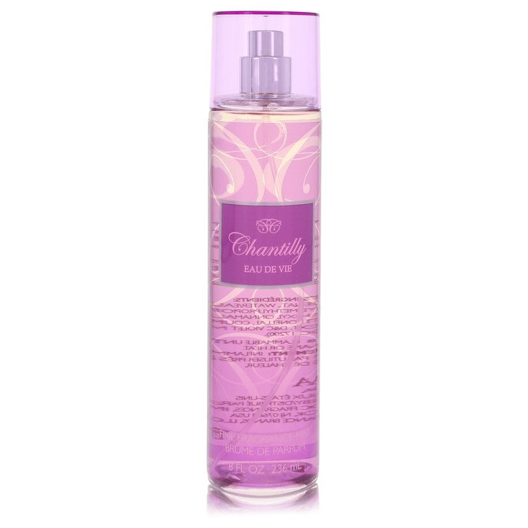 Chantilly Eau De Vie Perfume 240 ml Fragrance Mist Parfum Spray for Women