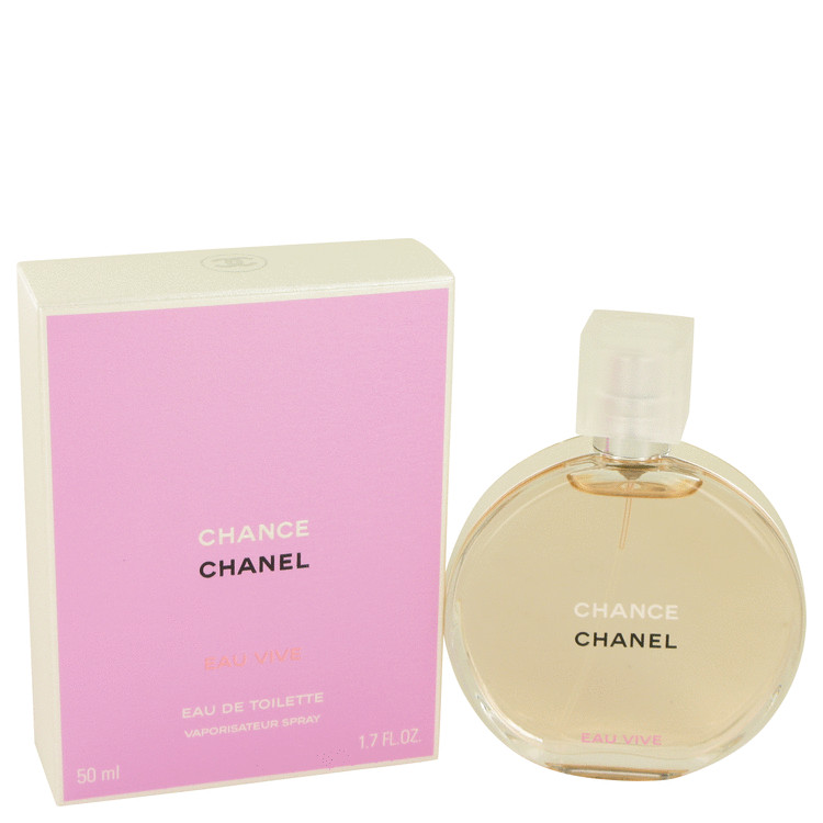 Chance Eau Vive Perfume by Chanel 1.7 oz EDT Spay for Women
