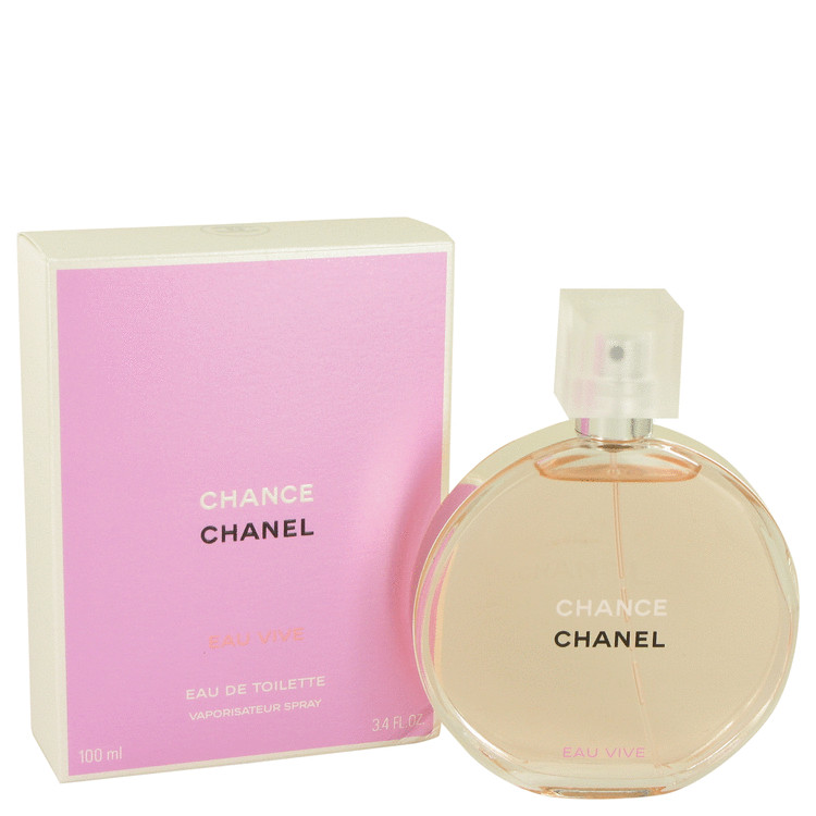Chance Eau Vive Perfume by Chanel 100 ml EDT Spay for Women