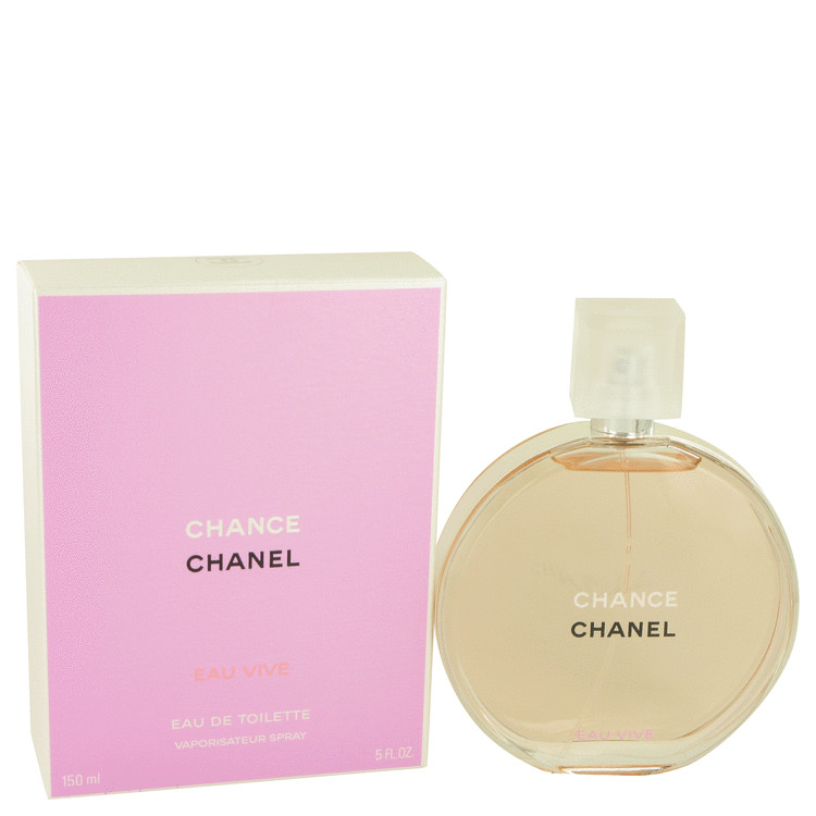 Chance Eau Vive Perfume by Chanel 150 ml EDT Spay for Women