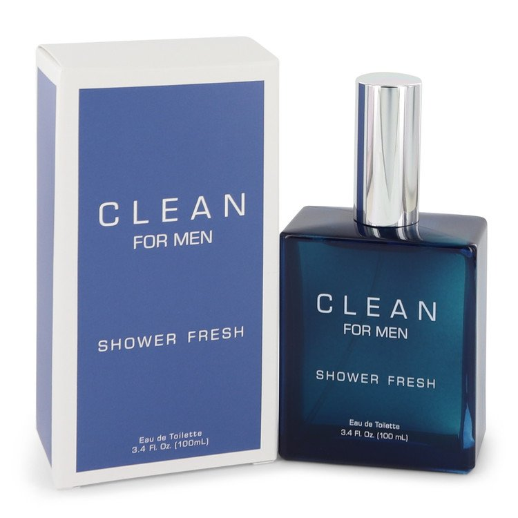 Clean Shower Fresh Cologne by Clean 100 ml EDT Spay for Men