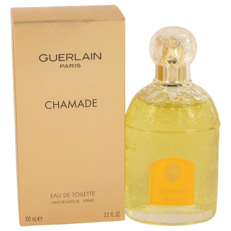 CHAMADE by Guerlain Eau De Toilette Spray 3.3 oz