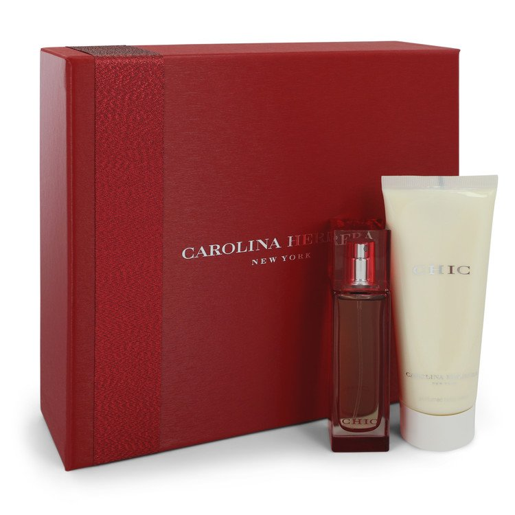 Chic Gift Set -- Gift Set - 1 oz Eau De Parfum Spray + 3.4 oz Body Lotion for Women