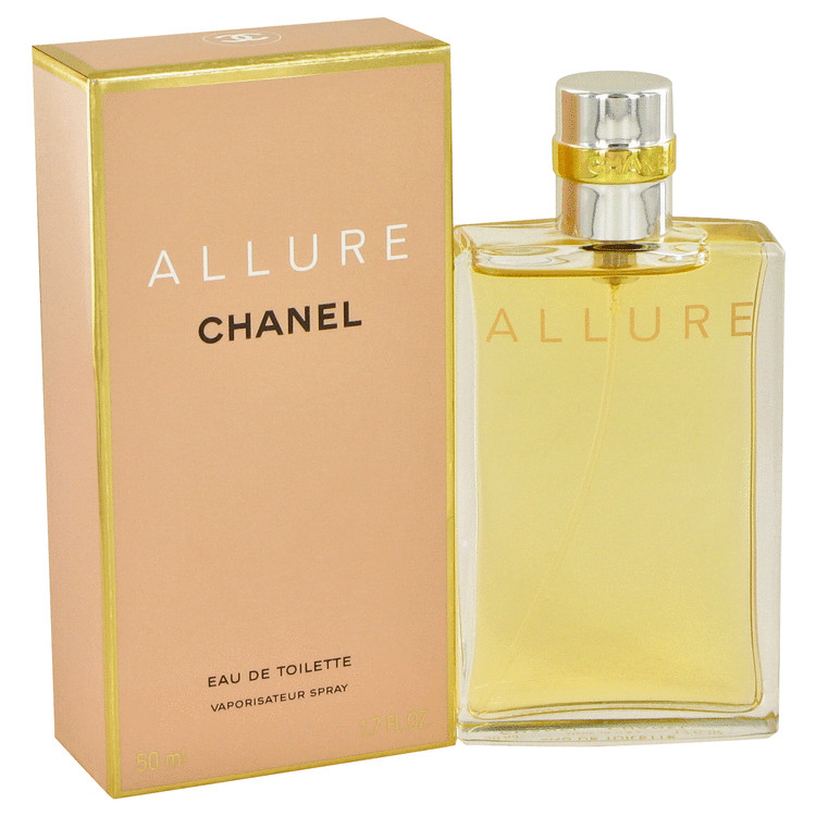 ALLURE by Chanel for Women Eau De Toilette Spray 1.7 oz