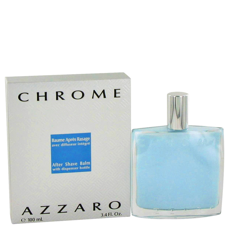 Chrome After Shave Balm 3.4 oz After Shave Balm (with Pump-unboxed) for Men