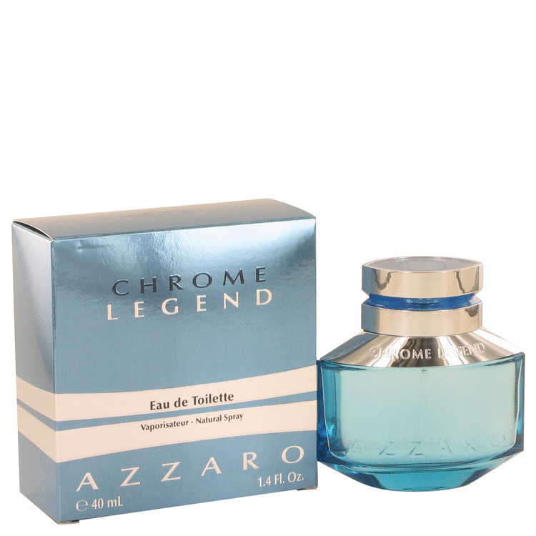 Chrome Legend Cologne by Azzaro 41 ml Eau De Toilette Spray for Men
