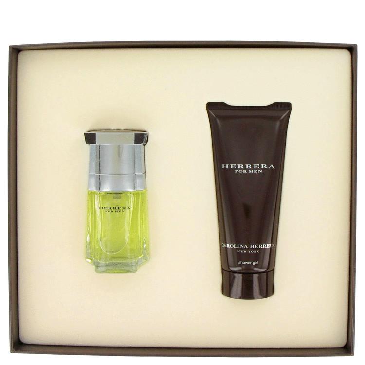 Carolina Herrera Gift Set -- Gift Set - 1.7 oz Eau De Toilette Spray + 3.4 oz Shower Gel for Men
