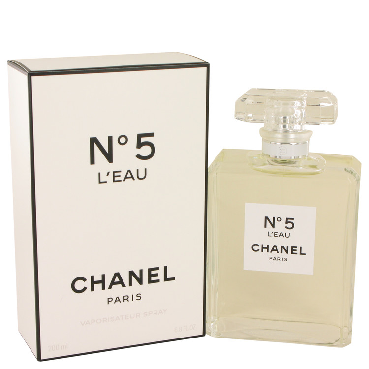 Chanel No. 5 L'eau Perfume by Chanel 6.8 oz EDT Spay for Women