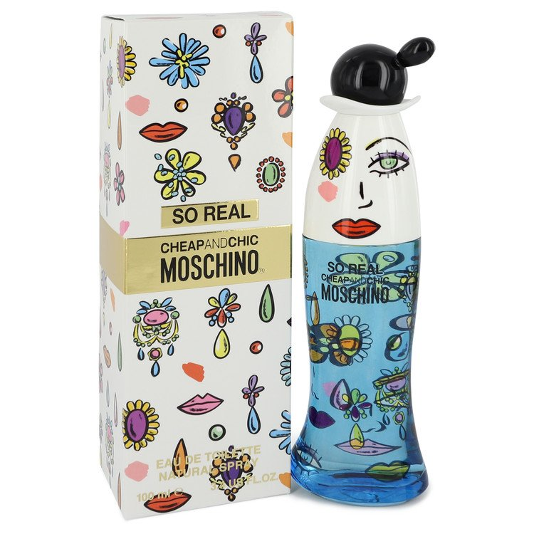 Cheap & Chic So Real Perfume by Moschino 100 ml EDT Spay for Women