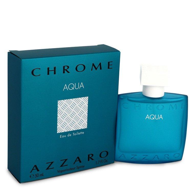 Chrome Aqua Cologne by Azzaro 50 ml Eau De Toilette Spray for Men