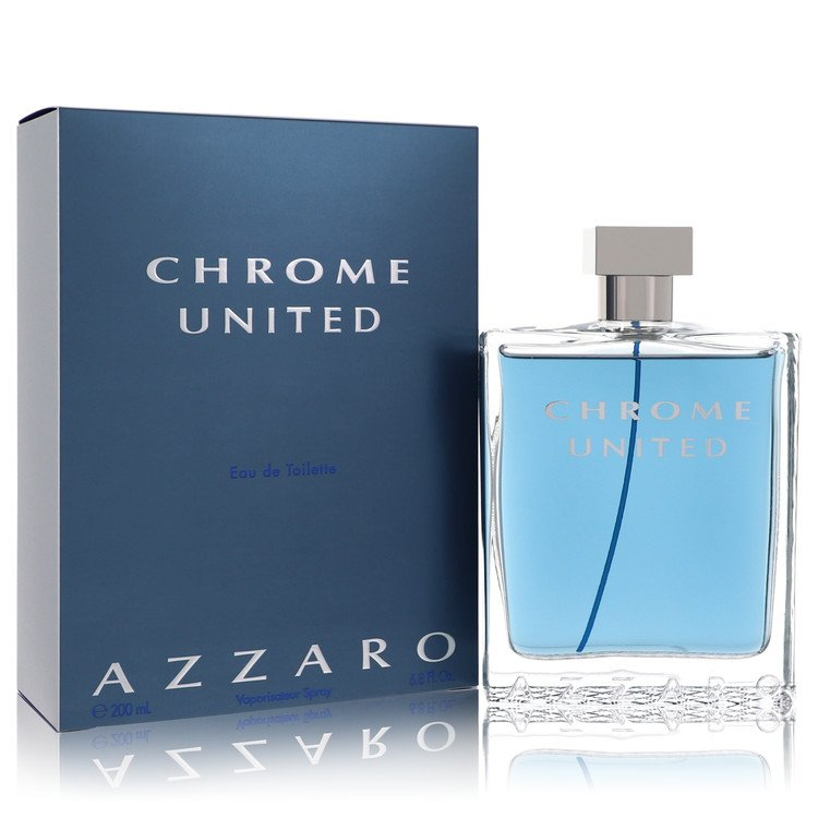 Chrome United Cologne by Azzaro 200 ml Eau De Toilette Spray for Men