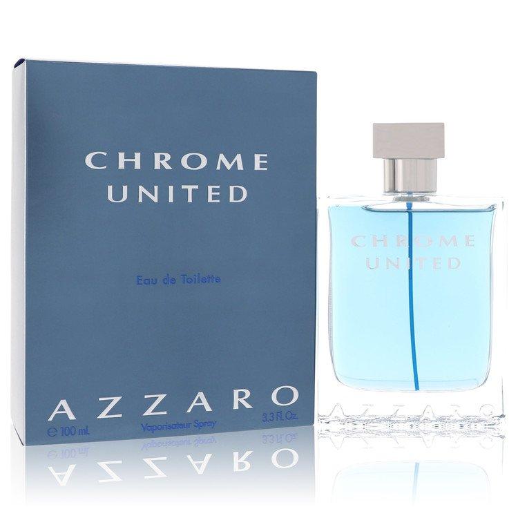 Chrome United Cologne by Azzaro 100 ml Eau De Toilette Spray for Men
