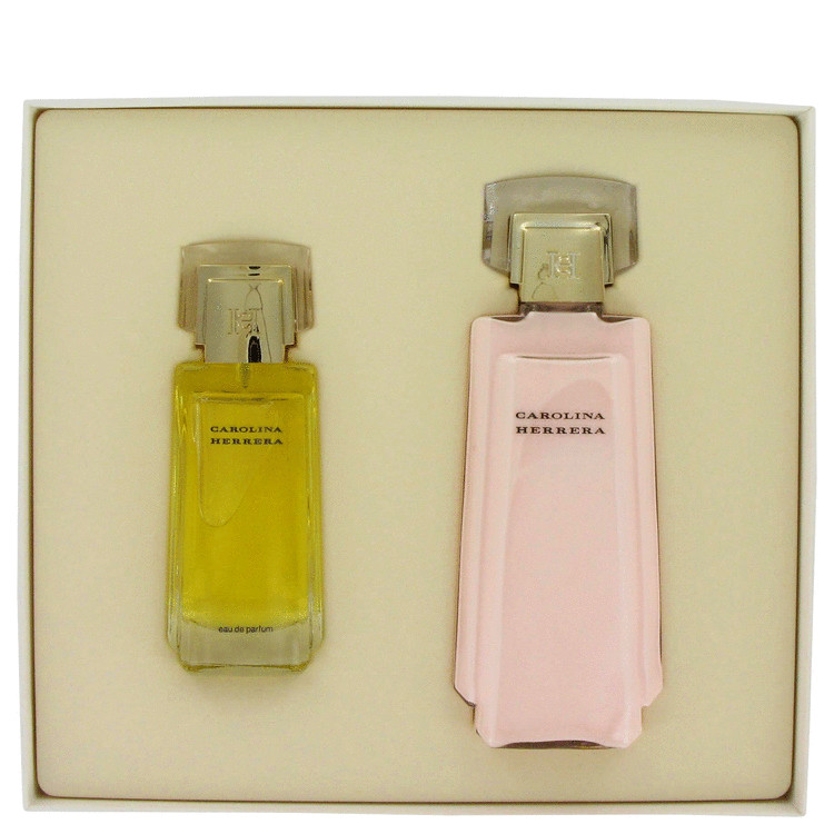 Carolina Herrera Gift Set -- Gift Set - 1.7 oz Eau De Parfum Spray + 6.7 oz Body Lotion for Women