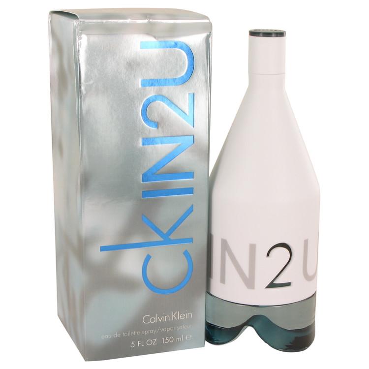 CK In 2U by Calvin Klein for Men Eau De Toilette Spray (Damaged Box) 5 oz