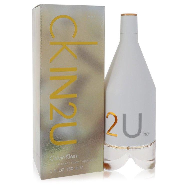 CK In 2U by Calvin Klein –  Eau De Toilette Spray 5 oz 150 ml for Women