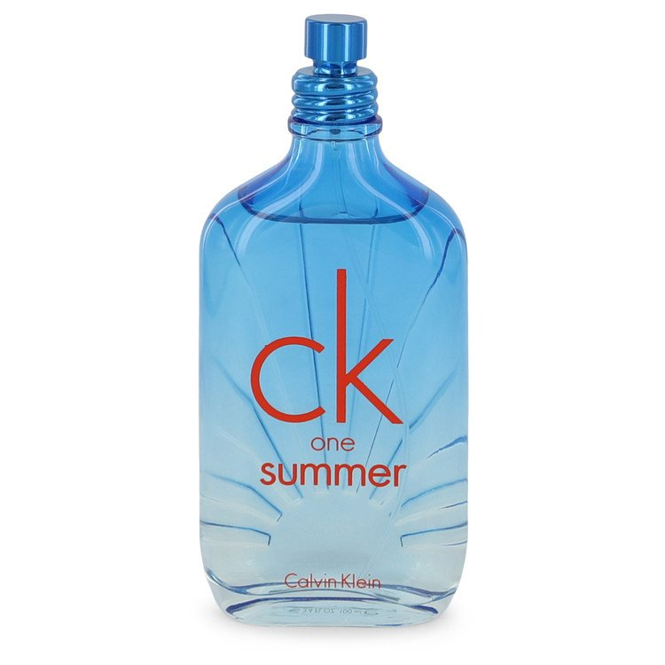 Calvin Klein Ck One Summer Cologne 3.4 oz EDT Spray (2017 Tester) for Men